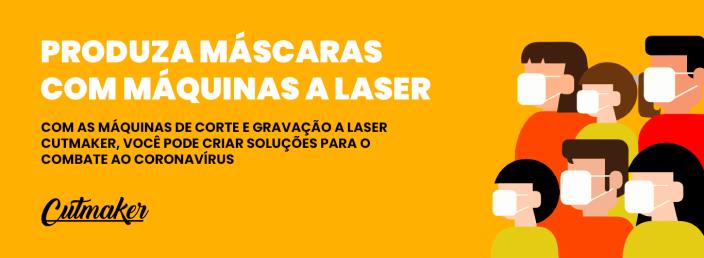 Sua máquina a laser em combate ao Coronavírus