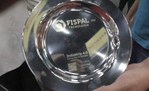 Participamos da Fispal 2017 com a máquina a laser de fibra
