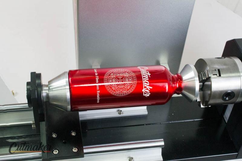 Fiber laser máquina gravação