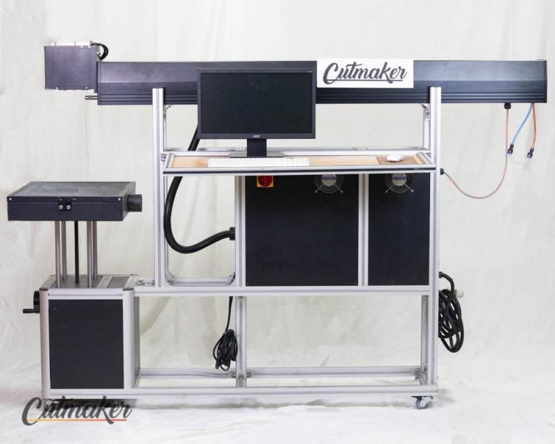 Maquina laser galvanometrica