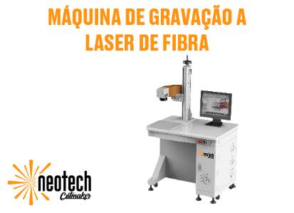 Máquina de Corte e Gravação a Laser de Fibra