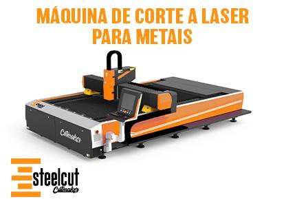 Máquina de Corte a Laser para Metais - Steelcut